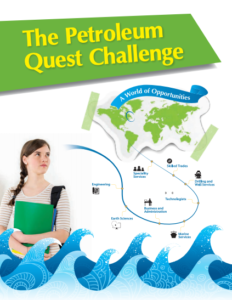 click the cover of the Petroleum Quest Challenge booklet to download the PDF and discover more.